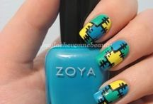Express yourself - Nail art / by Robin Elkins
