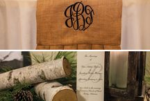 Monogram Love / All our favorite monogrammed items for weddings! / by Arkansas Bride Magazine