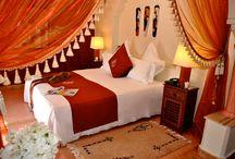 Suites et Chambres / Pour vos séjours a Marrakech, AL Mendili spa & resort vous proppose les plus belles suites deluxe et chambres de charme, dans un univers convivial et personnalisé. / by Riad Al Mendili Kasbah