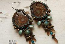 Beads- Earrings / by Naomi Key