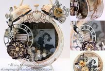 Vintage Clocks & Watches / Where did the time go?  Vintage clocks & clock decor from times past / by Sylvia