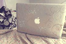 Mac Decoration Ideas / by Rhiannon Davies