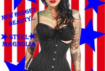 """4th of July Sale and Celebration! / 20% Off Everything in our Store with Coupon Code """"FIREWORKS"""" / by Corset Connection"""