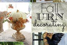 Fall decorating / by Debbie Locklair