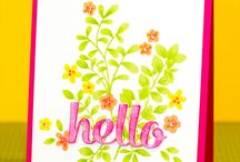 Hello Cards / Hello handmade cards / by Jennifer McGuire