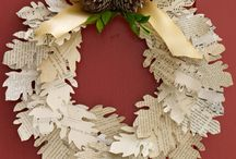 Fall Door Decor / Fall decorating / by Jeanette Duke