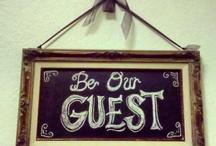 guest rooms / by Blair Glenn