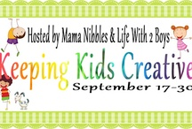Keeping Kids Creative / #kidscreative  Keeping Kids Creative is an event that will take place September 17th through the 30th.  Follow this board to stay up to date on all the amazing giveaways our group will have going on.   / by Mama Nibbles