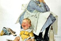 Art - Norman Rockwell / by Mary Roberts