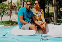 BEYONCÉ & JAY~Z  / The dream team in entertainment and business! / by Vee Ivie