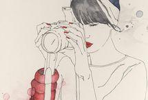 *Illustration* / #illustration #illu #dessin #drawing #art / by Atoussa