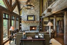Timber Frame & Rustic Homes / by Christina at I Gotta Create!