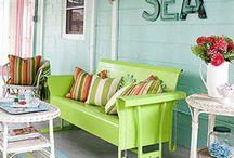 Painted furniture / by Kathy Floyd