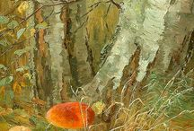 Mushrooms in Art / by LaReta Johnson