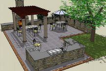 patios / by Wendy Bollinger Skalicky