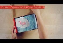 Paper Pumpkin September 2014 - Boo-tiful Bags / Paper Pumpkin September 2014 / by Paper Pumpkin by Stampin' Up!
