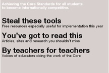 Common Core / by Cheryl Rister