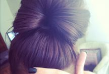 Hair/Hairstyles / Hairstyles for everyday/work and for Special Occasions <3  / by Christine Fuchsel