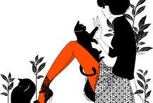 { print media } / by Cristina Jeanne
