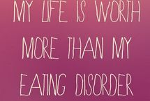 Eating Disorder Recovery / Because &%$# You, Bulimia.  / by Cassara Cook