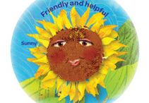 Daisies Sunny Petal - Friendly and Helpful / by Girl Scouts SU24