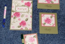 ROSES IN WINTER - Stampin up / by Karen Withrow
