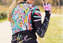 Hers & his cycling gear n stuff / by Mitzi Perez