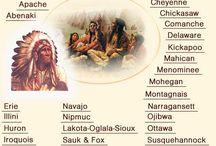 Tribus americanas nativas,Guerra Civil y viejo oeste / by Joaquin Javier Martinez Rojo