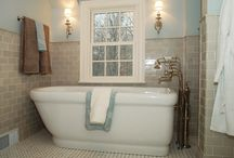 Home Inspiration - Bathrooms / by Stephanie Buttrill
