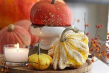 Fall Decorating & Entertaining  | Seasonal Inspiration & Ideas / Color and decorating ideas for stylish autumn decorating at home from rustic to casual to sophisticated and elegant, and tasty fall dessert recipes for creating delicious autumnal treats. / by Carmen @ The Decorating Diva, LLC