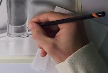 draw & paint π / See also paper finishes / by Pii Topio