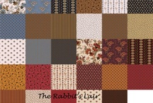 Fabric Inspiration / New and wonderful fabrics in the shop! / by The Rabbit's Lair