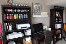Craft Room/Office / by Mary Beougher