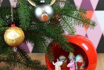Julpynt och julsaker / Christmas decorations / by Bluebox.se