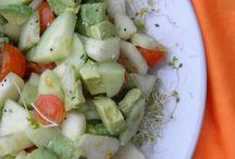 Cucumber recipes / by Opal Rabalais