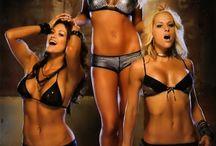 WWE DIVAS AND OTHER WRESTLERS / WOMEN WHO WRESTLE / by Dwaine Belcher