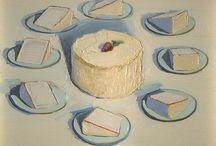 Wayne Thiebaud Cakes / by Nazan Lewis