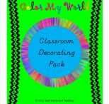 Classroom Decorating Pack / by Buysellteach