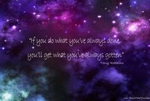 Inspiring quotes / by Jessica de la Davies