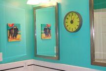 Turquoise Bath Ideas / by Sandra Moses