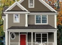 exterior paint schemes / by Isabel Dees