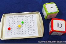 Math-Addition, Subtration, Multiplication, Division, etc / by Homestead Mom