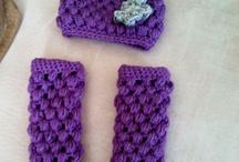 Crochet baby hats / by Joyce Yvonne Ambrose