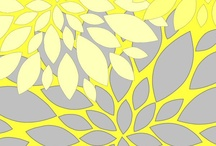 Gray yellow / by Kym Lopez Woods