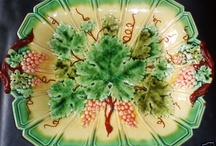 Majolica Magic / A fine collection of nature-inspired art in glassware. / by Claudia Pierce