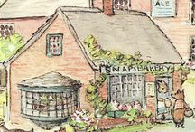 English love / Tea, cottages, and England  / by Brandy Steffen