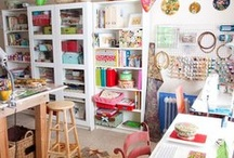 CRAFT RoomZ.. Home OFFICE.. / Dreaming of having one of my own.. One day.. / by Amal Zarour