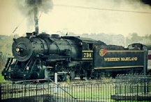 Riding the Rails / Trains , railroad , rails , tracks , locomotives / by The Grey Ghost