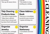 Cleaning & Organizing / by Jess I.
