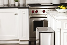 trash cans / Our trash cans provide you with a cleaner, easier way to manage your trash.  / by simplehuman